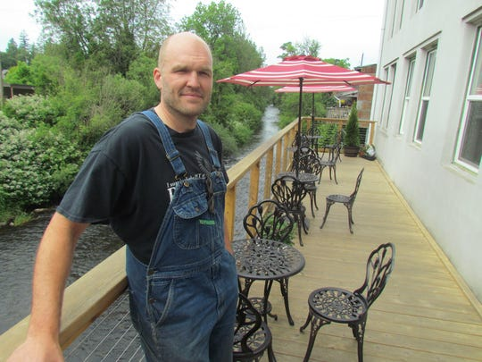 Marty Schrock sat in for a Creekside Chat Wednesday,