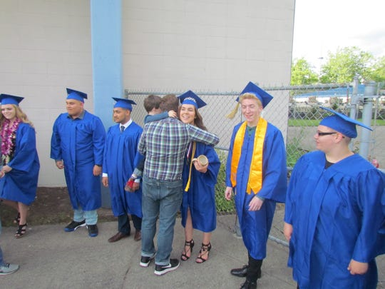 Stayton High School Class of 2017 celebrated it graduation ceremony at the Salem Armory on Friday, June 9.