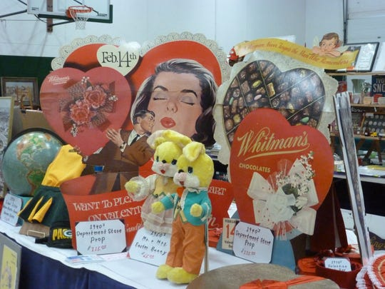 Vintage valentine boxes and signs await collectors'