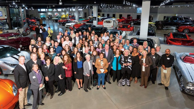 BIGHORN Cares celebrates with members and representatives from 47 non-profits who received $450,000 in grants.