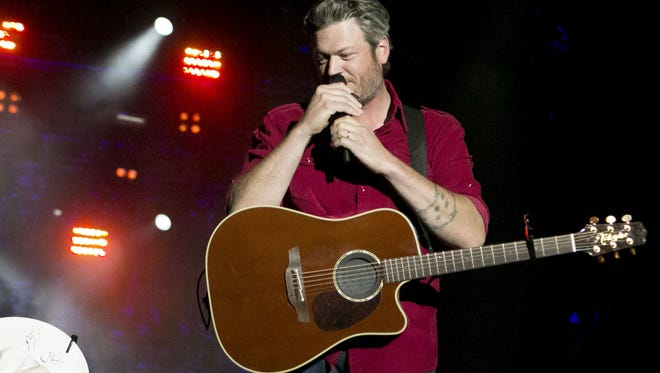 Blake Shelton has been a Country Thunder Arizona headliner in 2012, 2015 and 2017.