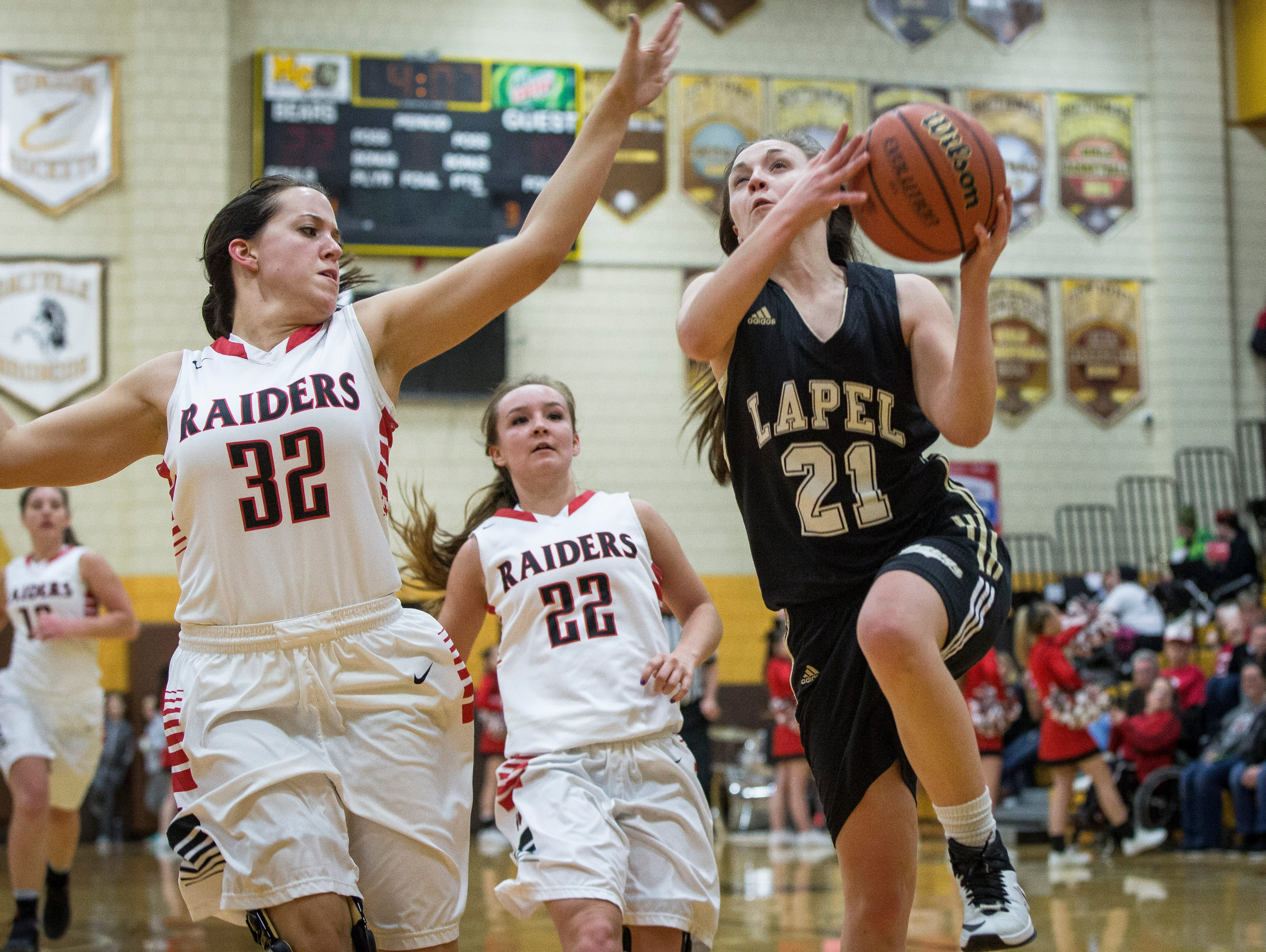 Wapahani lost 44-42 on Feb. 3 against Lapel in the Class 2A Semi-final at Monroe Central. Lapel will play Monroe Central on Feb. 4 for the championship game.