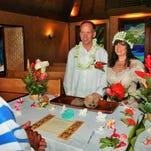 Couple takes Bora Bora wedding reception 'on the road'