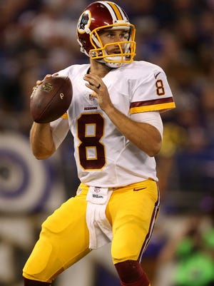 Kirk Cousins has been named the starter for the 2015 season.