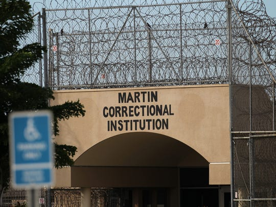 Martin Correctional Institution in Indiantown is shown on Nov. 19, 2015.