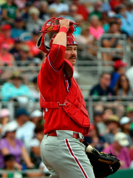 MLB: Spring Training-Philadelphia Phillies at Boston Red Sox