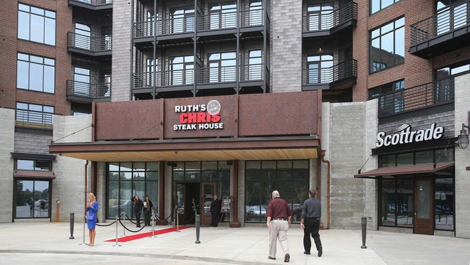 The new Ruth's Chris Steak House location at the Ironworks development at 86th Street and Keystone Avenue.