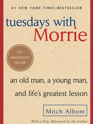 "The 20th anniversary edition of ""Tuesdays With Morrie"""