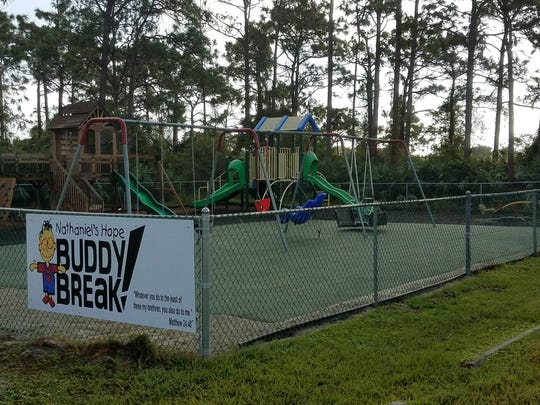 The Buddy Break Special Needs Playground is located at the United Church of Sebastian.
