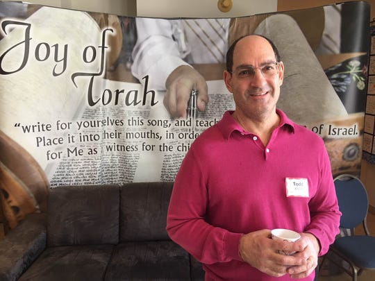 Todd Kislak, director of marketing for Temple Adat Elohim, helped publicize the Thousand Oaks synagogue's annual Christmas Day meal program for the needy.