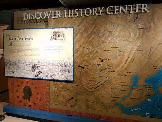 New interactive exhibits in the Discovery History Center