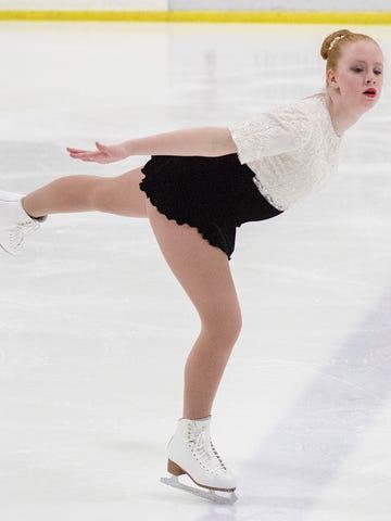 Emma Carlton, of the Garden City Figure Skating Club.