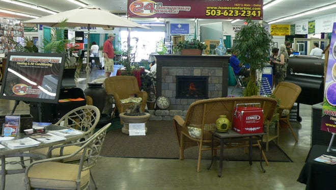 Polk Home and Garden Show is happening this weekend at the Polk County Fairgrounds in Rickreall.