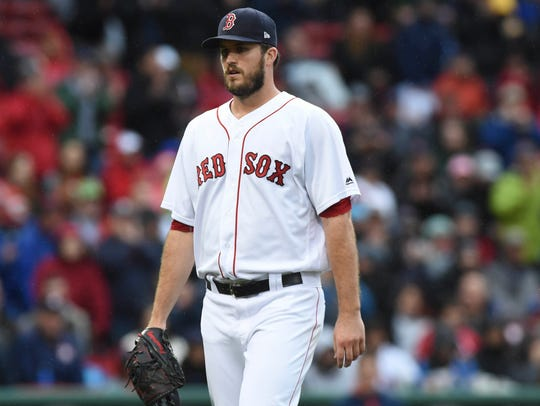Collierville grad Drew Pomeranz won 17 games for the Red Sox in 2017.