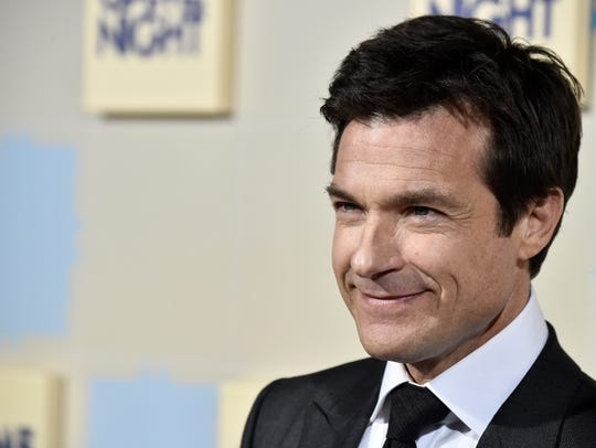"Jason Bateman attends the premiere of ""Game Night"""