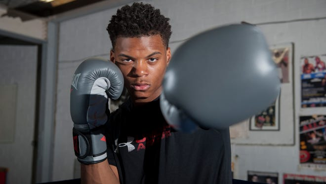 Camden boxer Jamar Talley recently won the New Jersey Golden Gloves Tournament and will compete in the National Golden Gloves Tournament of Champions in Omaha, NE,  May 14–May 19.