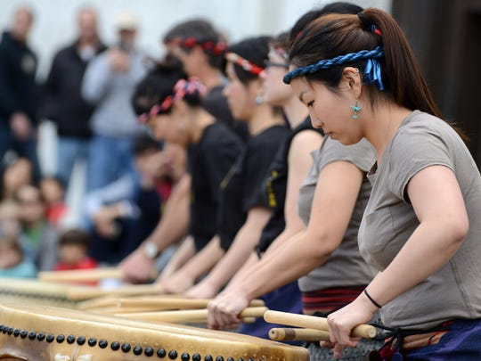 Hear taiko drummers perform at Cherry Blossom Day 10 a.m. to 2 p.m. March 19 at the Oregon State Capitol.