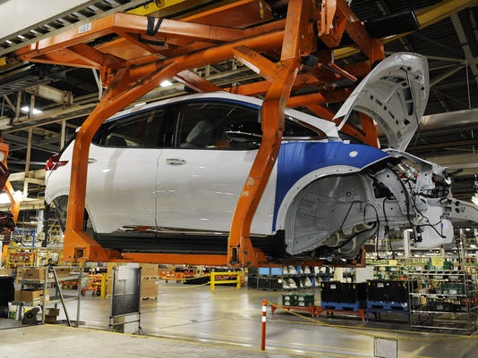 Gm Orion Readies For Chevy Bolt Ev Production