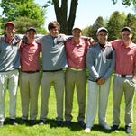 The Coldwater golf team after finishing runner-up at the Interstate Eight golf tournament at Bedford Valley Golf Course on Wednesday.