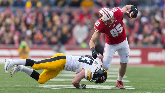 If Wisconsin tight end Zander Neuville is healthy, he should contribute this season.
