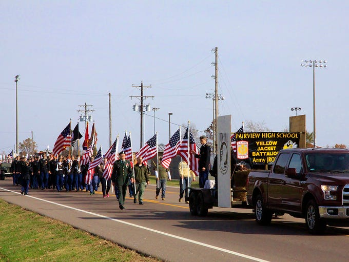 Fairview hosted community's first-ever Veterans Day