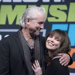 Neil Giraldo and Pat Benatar held a wide-ranging conversation about their lives and music at the SXSW Music Festival in Austin, Texas.