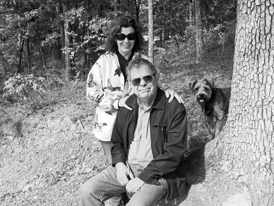 Author Rheta Grimsley Johnson and husband Hines Hall, a retired Auburn history professor, spend part of the year in a hollow in northeast Mississippi.