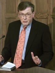 """Willard """"Sandy"""" Boyd, pictured in 2002."""