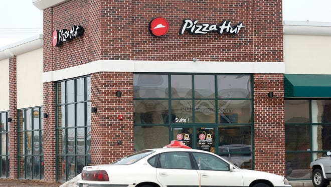 The new Pizza Hut at 6663 Rolling Meadows Drive in Fond du Lac. Thursday January 19, 2016. Doug Raflik/USA TODAY NETWORK-Wisconsin.