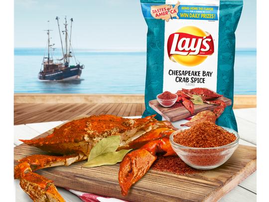 Lay's Crab Spice flavor. Picture courtesy of Frito