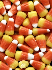 If you want to make it rain candy corn, hand it out