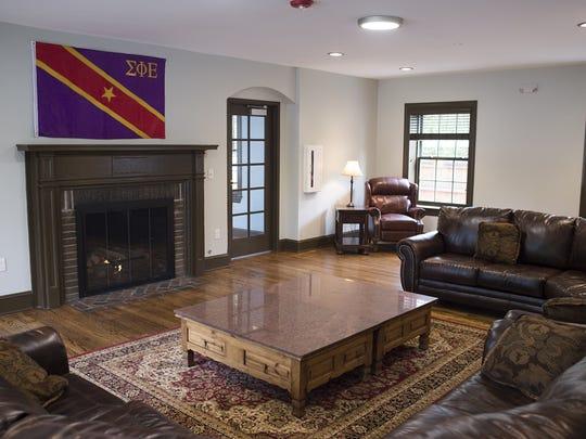 The Sigma Phi Epsilon fraternity house, 121 E. Lake St., has been modernized through a $3 million renovation.