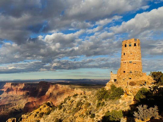 Online voters can help the Desert View Watchtower at Grand Canyon win up to $250,000 for preservation.