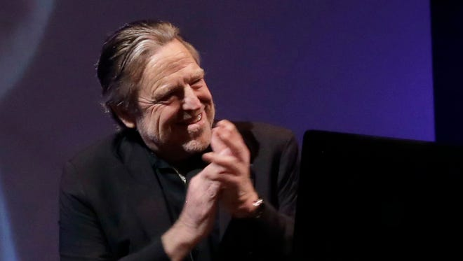 Founder of the Electronic Frontier Foundation John Perry Barlow, co-founder & vice chairman of the Electronic Frontier Foundation