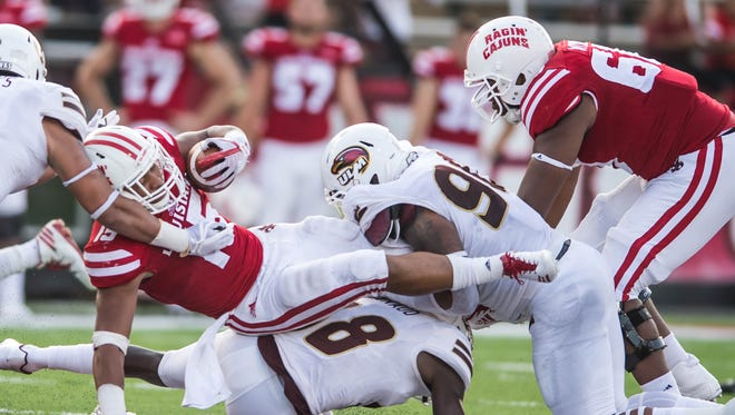 ULM blew a three-touchdown lead in the fourth quarter but found a way to leave Cajun Field with a signature win over UL Lafayette, its first since 2013.