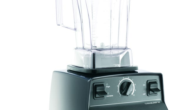 The Vitamix is put through a heavy workout, morning (smoothies) and night (soups).