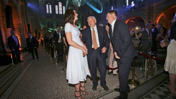 Kate chats with legendary naturalist David Attenborough