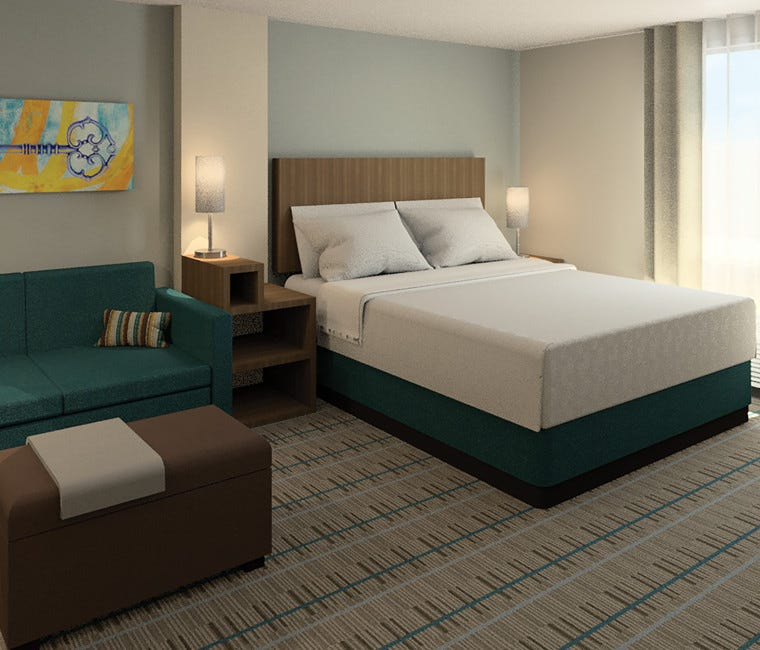 MainStay Suites is an extended stay brand.
