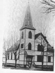 "This is what Zion United Methodist Church looked like when June Campbell visited her grandparents in the 1940s. She still remembers hearing her great-uncle's booming voice singing, ""A Christian Welcome Here"" at the church."