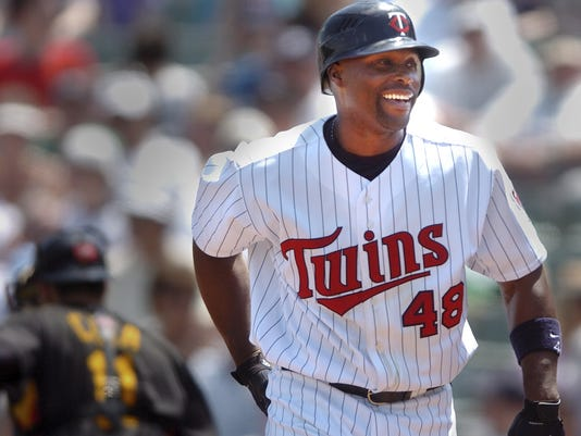 MINNESOTA OUTFIELDER TORII HUNTER