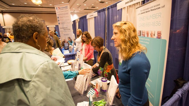 The Solutions for Family Caregivers Expo sponsored by the Area Agency on Aging 1-B was held last year at the Wyndham Garden Sterling Heights.