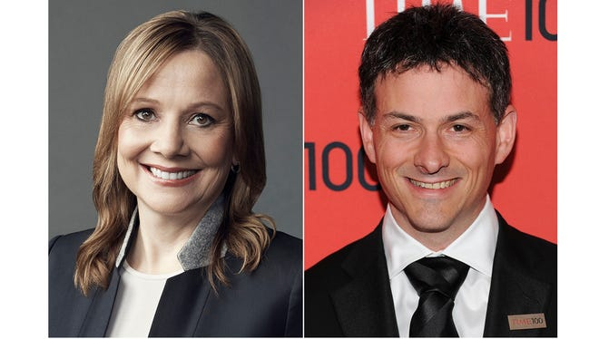 Mary T. Barra, Chairman & Chief Executive Officer, GM and David Einhorn, Founder and president of Greenlight Capital