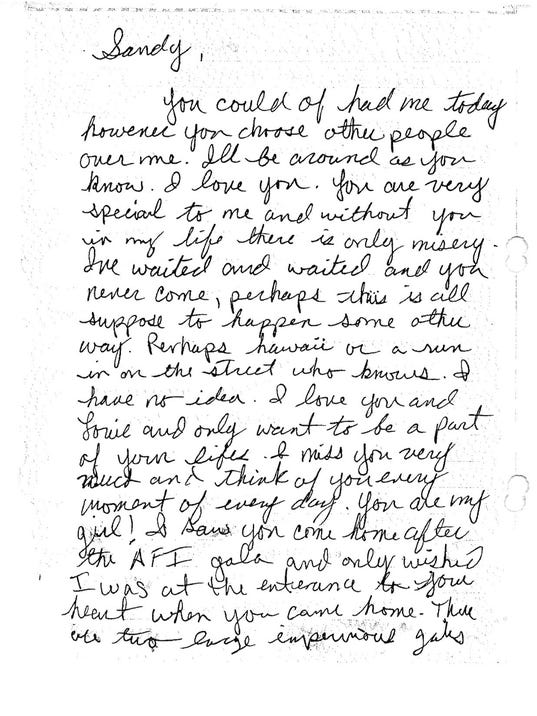 Richard Ramirez Love Letter
