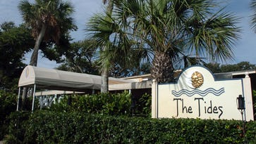 The Tides restaurant is seen at 3103 Cardinal Drive, Vero Beach.