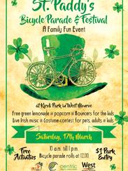 St. Patrick's Day fun at Kiroli Park will take place