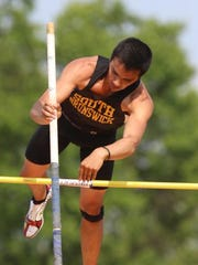 Martin Jones of South Brunswick clears 11-0 in the