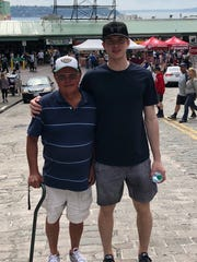 Carter Hart and his billet, Parker Fowlds, often made trips to nearby Seattle.