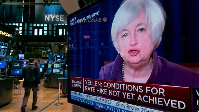 Fed chair Janet Yellen will have a press conference after Thursday's meeting.