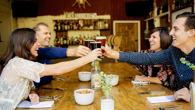 Following Orange County's beer trail is fun to do with friends.