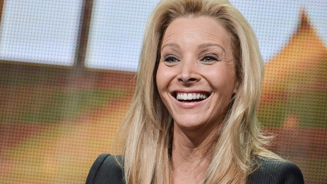 """Lisa Kudrow speaks onstage during the """"The Comeback"""" segment of the HBO 2014 Summer TCA on Thursday, July 10, 2014, in Beverly Hills, Calif. (Photo by Richard Shotwell/Invision/AP) ORG XMIT: CAPS129"""